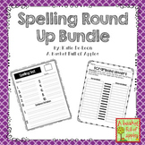 Spelling Activities for any spelling list Bundle!