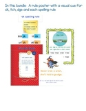 Spelling Rule Activity Bundle for -ck, -tch and -dge