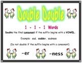 Spelling Rule Double Double