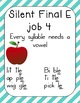 Spelling Rules Anchor Chart Posters