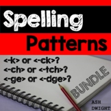 Spelling Rules BUNDLE