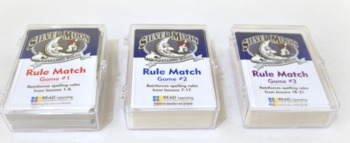 (HARD GOOD) Rule Match Games for Silver Moon Spelling Rules (Set of 3 Games)