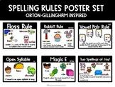 Spelling Rules Posters: Orton Gillingham Inspired