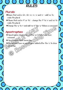 spelling rules posters plus investigation worksheets by resourcing time. Black Bedroom Furniture Sets. Home Design Ideas