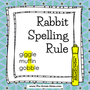 Spelling Rules-- Rabbit