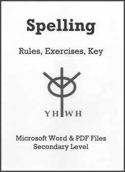 Spelling Rules and Exercises