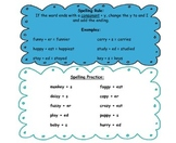 Spelling Rules and Practice