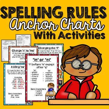 Spelling Rules with Anchor Charts