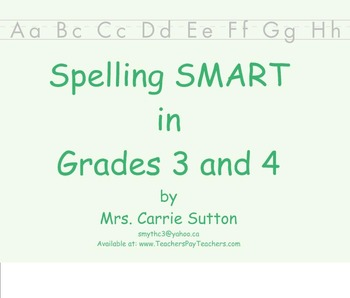 Spelling SMART in Grades 3 and 4 PDF