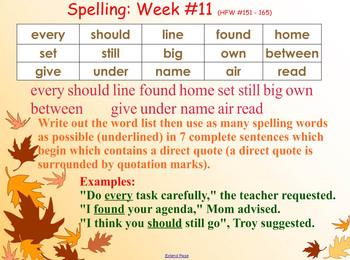 Spelling SMART in Grades 3 and 4: SMARTNotebook