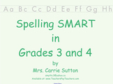 Spelling SMART in Grades 3 and 4: SMARTNotebook