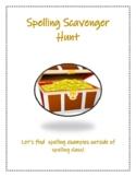 Spelling Scavenger Hunt