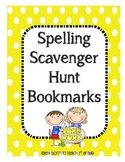 Spelling Scavenger Hunt Bookmarks: Applying Spelling Patte