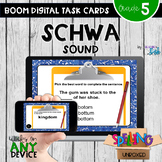 Spelling Schwa Word Study Boom Cards - Distance Learning