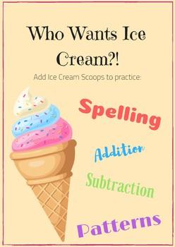Spelling Scoops!