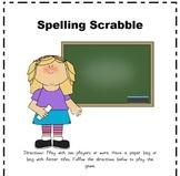 Spelling Scrabble