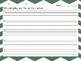 Spelling Sentences ~ Lined Paper for 10 Spelling Words