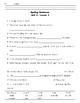Spelling Sentences Unit 4 - Lessons 1-5 (Imagine It! Second Grade)