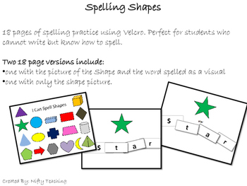 Spelling Shapes
