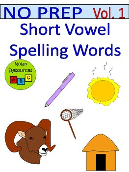 Spelling - Short Vowel Words