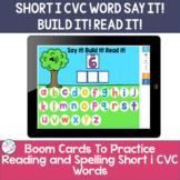 Spelling Short i CVC words | BOOM Cards ™