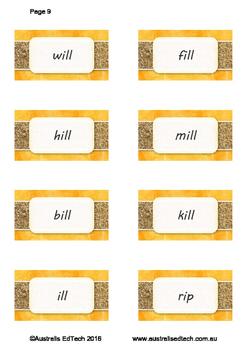 Spelling Short i -in -ill -ip -ick