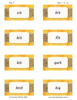 Spelling Short i -it, -ig