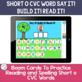 Spelling Short o CVC words | BOOM Cards ™