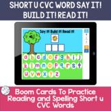 Spelling Short u CVC words | BOOM Cards ™