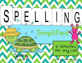 Spelling Simplified: Spring Edition