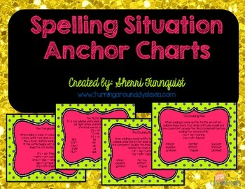 Spelling Situation Anchor Charts