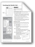 Spelling: Sixth Grade Teaching Unit/Dictation, Master Word List
