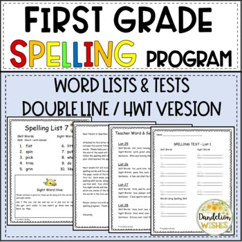 Spelling Skill Word Lists with SIPPS - HWT Version