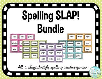 Spelling Slap BUNDLE - 5 games!