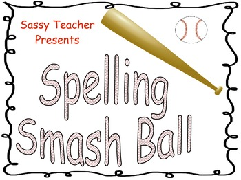 Spelling Smash Ball