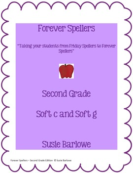 Spelling - Soft c and Soft g - 2nd Grade