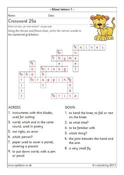 Spelling Spellzoo Year 3 Set 25 Worksheets Answer Key
