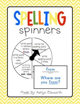 Spelling Spinner