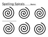 Spelling Spirals - Spelling Practice