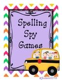 Spelling Spy Games