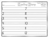 Spelling Stamp