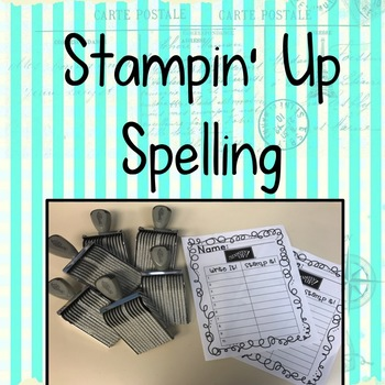 Spelling Stamp Activity