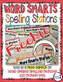 Spelling Station Sampler FREEBIE