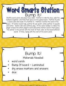 Spelling Station Sampler FREEBIE