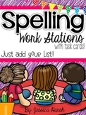 Spelling Station Task Cards