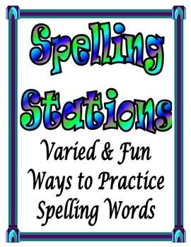 Spelling Stations