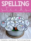 Sight Word Spelling Sticks