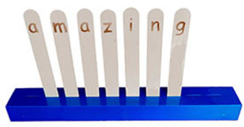 Spelling Sticks Plastic Stand