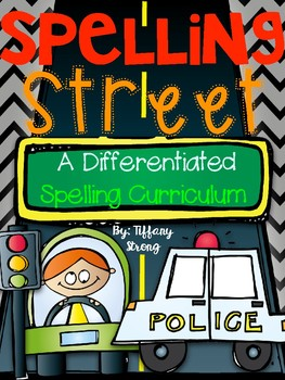 It's a Differentiated Spelling Street