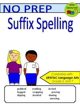 Spelling - Suffix (ED & ING)